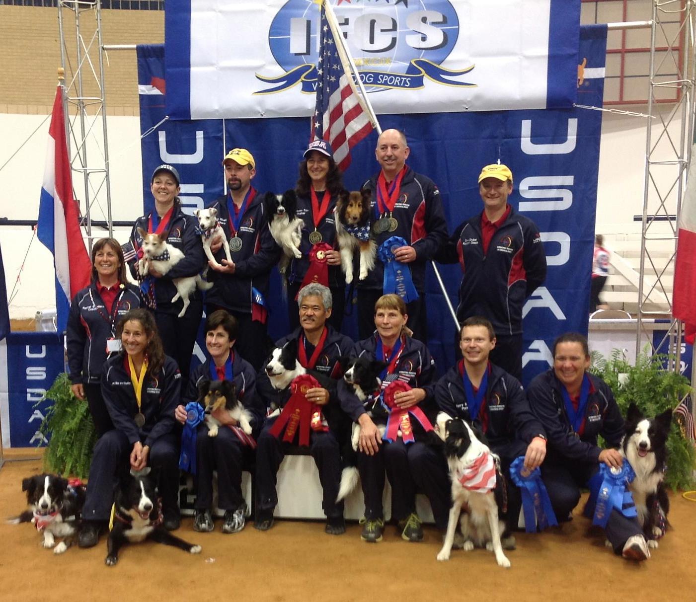 2012 IFCS USA World Team Members